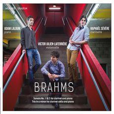 Johannes Brahms : Sonata No. 1 & 2 for Clarinet and Piano - Trio in A Minor for Clarinet, Cello and Piano