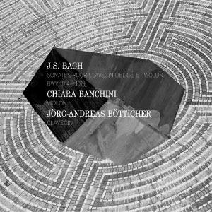 Johann Sebastian Bach : Sonates pour clavecin obligé et violon, BWV 1014-1019