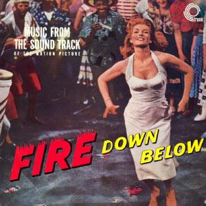 """Bande Originale du Film """"L'Enfer des tropiques"""" (Fire Down Below, de Robert Parrish) (1957)"""