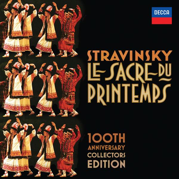 Igor Strawinsky Orchestre Philarmonique de Berlin Von Karajan Le Sacre Du Printemps