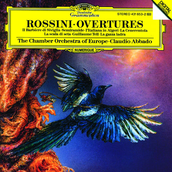 Rossini overtures gioacchino rossini par gioacchino for Chamber orchestra of europe