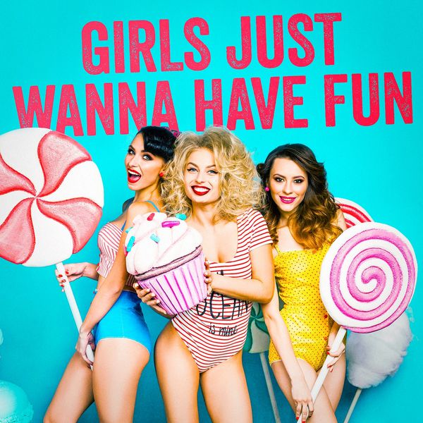 Girls Just Wanna Have Fun Poster Print by Amy Cummings