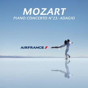 Piano Concerto No. 23 in A, K. 488: II. Adagio (Air France TV Ad) - Single