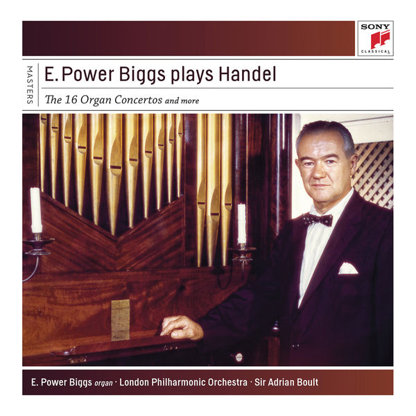 E. Power Biggs - 24 Historic Organs In 8 Countries Covering 7 Centuries Of Music By 24 Composers