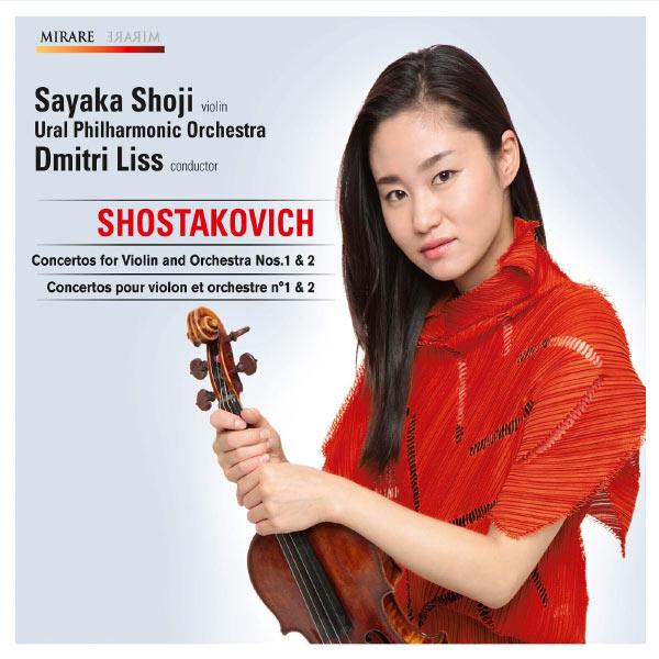 Chostakovitch : les 2 concertos pour violon 3760127221661_600