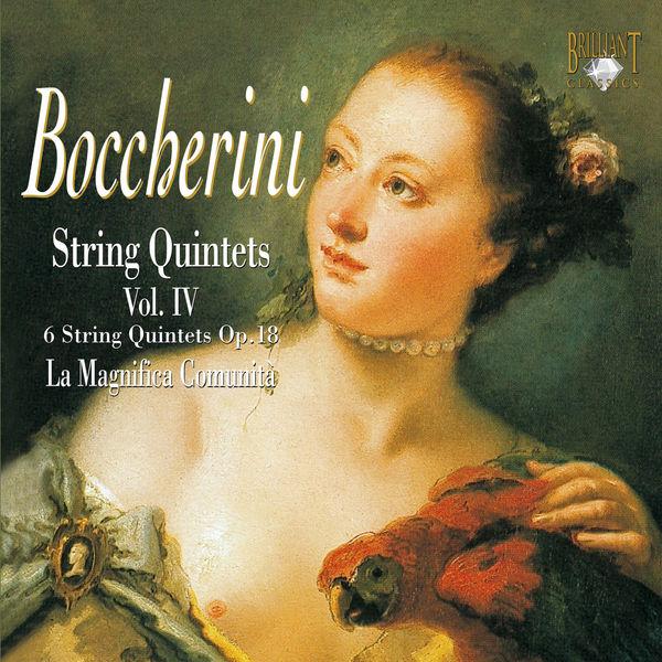 Luigi Boccherini Quintettes à cordes, volume 4 - 5028421933467_600