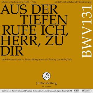 Bachkantate, BWV 131 - Aus der Tiefen rufe ich, Herr, zu dir (Live)