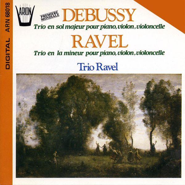 debussy   trio en sol majeur pour piano  violon et violoncelle