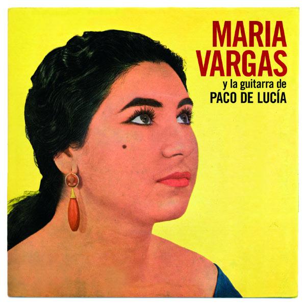 Maria Vargas Maria Vargas Y La Guitarra De Paco De Lucia - 0060249866983_600