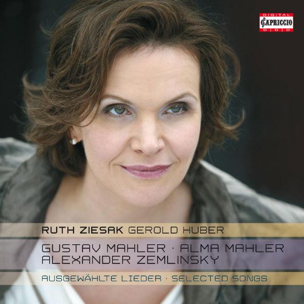 Gustav Mahler - Alma Mahler - Alexander Zemlinsky Ruth Ziesak, soprano - 0845221051192_600