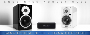 Banc d'essai : Enceintes Dynaudio Xeo 3  liaison sans fil (2)