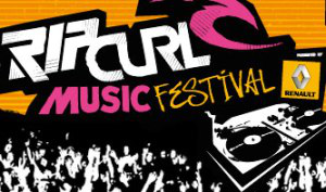 Rip Curl Music Festival, vague sonore