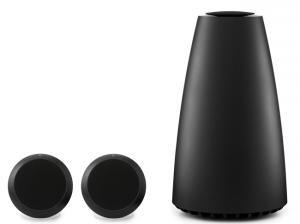 Bang & Olufsen lance l'onéreux concept Stéréo Beoplay S8, 2 boules et 1 sub filaires.