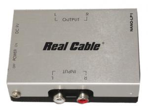 Préampli phono Real Cable Nano-LP1 : le petit objet pratique à pas cher (39,99 €)