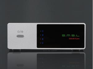 DAC S.M.S.L Sanskrit pro : jusqu'à 24 bits à 384 kHz, DSD64 et 128, Bluetooth aptX, et avec un très beau son pour parfaire le tout !