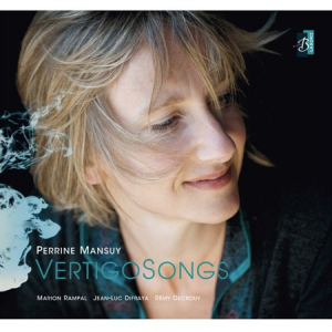 Perrine Mansuy  Vertigo Songs (Laborie Jazz/Abeille Musique)