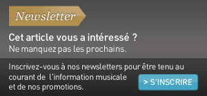 Inscrivez-vous &agrave; nos newsletters