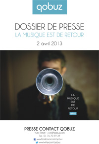 Dossier de presse Qobuz 2013