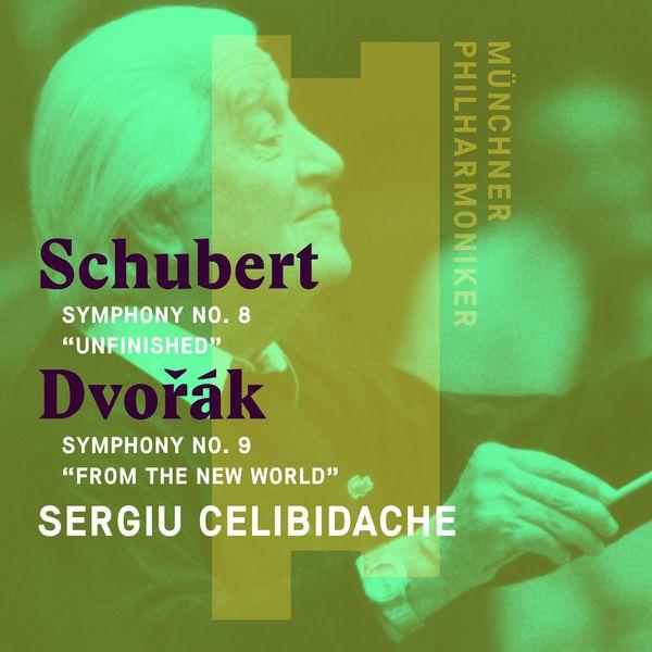 """Sergiù Celibidache - Schubert: Symphony No. 8, """"Unfinished"""" - Dvorák: Symphony No. 9, """"From the New World"""""""