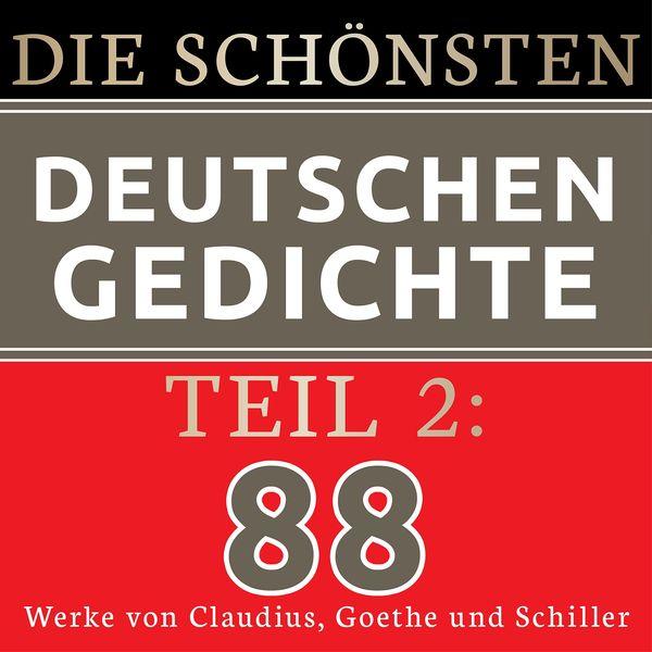 Album Die Schönsten Deutschen Gedichte 2 88 Werke Von