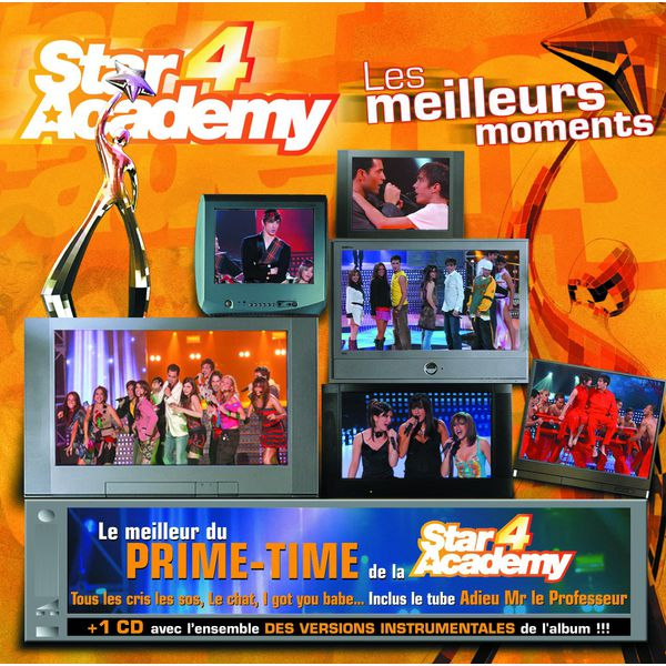 les meilleurs moments du prime time star academy 4 t l charger et couter l 39 album. Black Bedroom Furniture Sets. Home Design Ideas