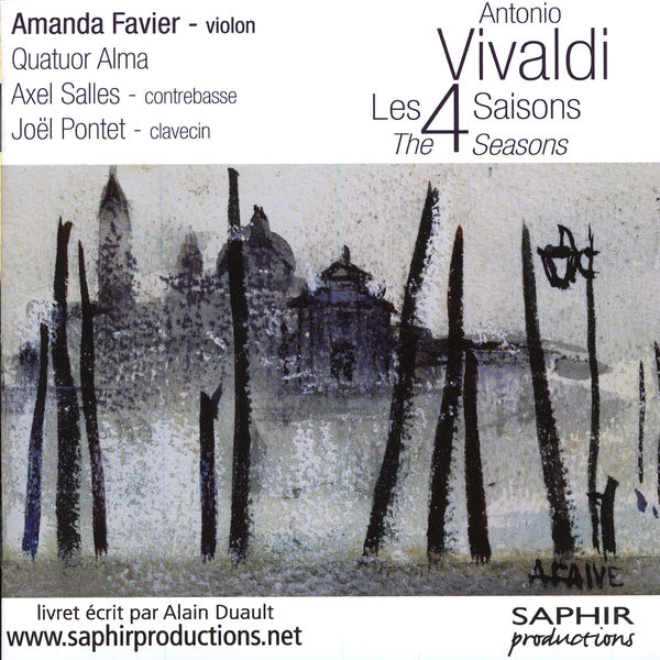 Amanda Favier - Vivaldi : Les 4 Saisons