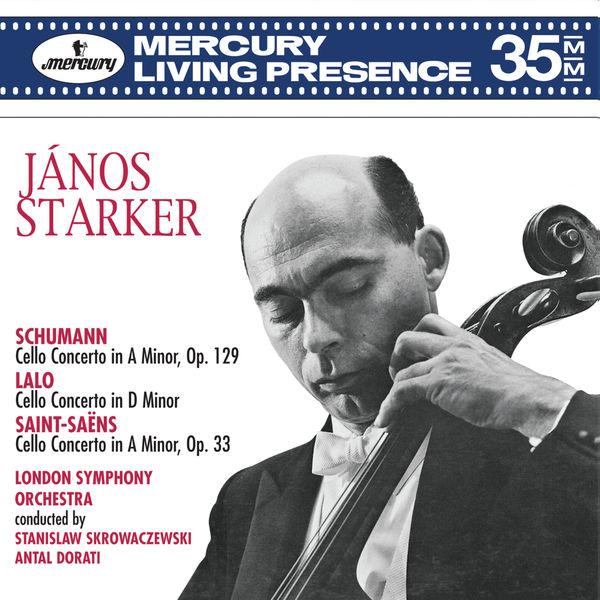 Janos Starker - Schumann: Cello Concerto; Lalo: Cello Concerto; Saint-Saëns: Cello Concerto No.1
