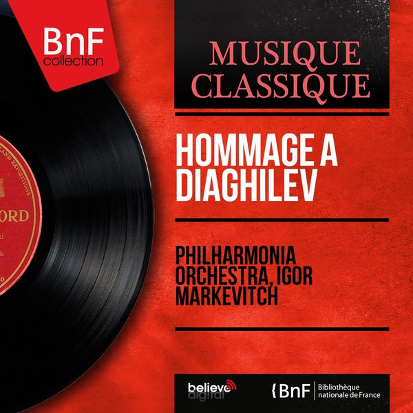 Philharmonia Orchestra - Hommage à Diaghilev (Mono Version)
