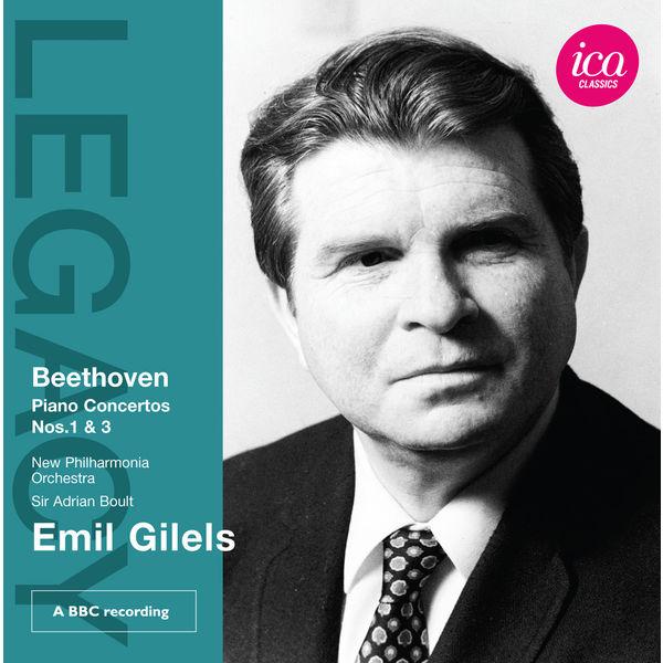 Emil Gilels - Beethoven: Piano Concertos Nos. 1 & 3