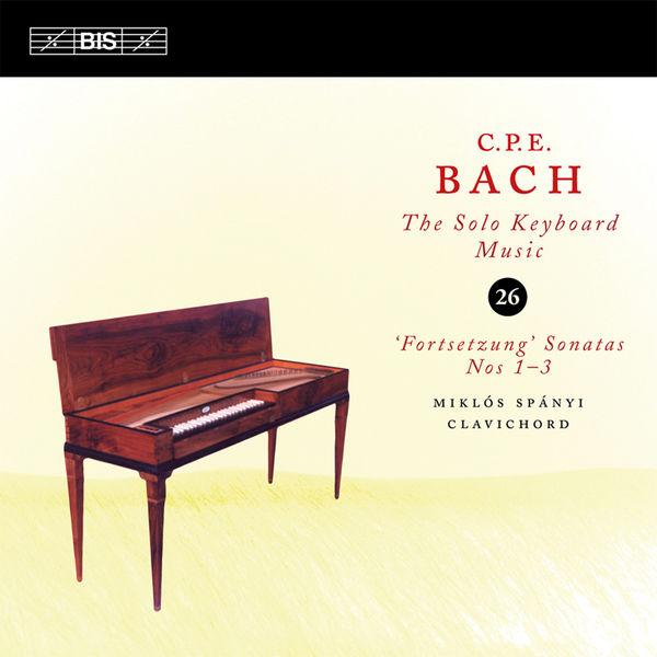 Miklos Spanyi - C.P.E. Bach: Solo Keyboard Music, Vol. 26