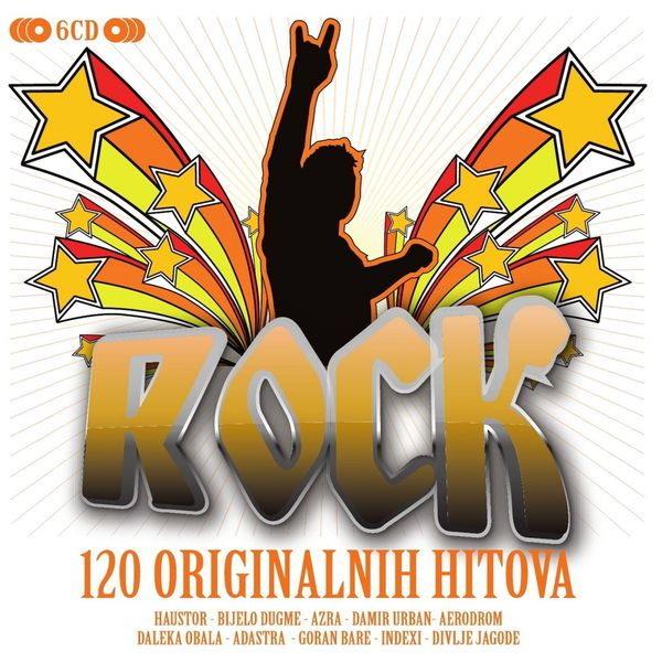 Razni izvođači - Rock 'N' Roll - 6CD Box