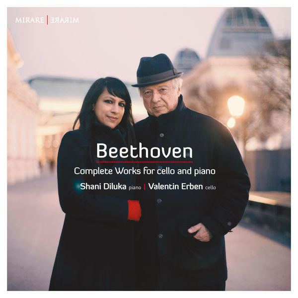 Valentin Erben - Beethoven : Complete Works for cello and piano
