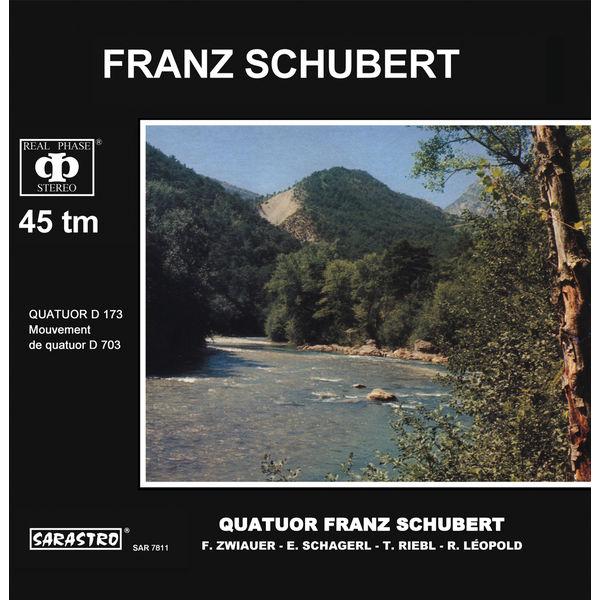Franz Schubert Quartet - Schubert: Quatuor, D. 173 / Mouvement de quatuor, D. 703