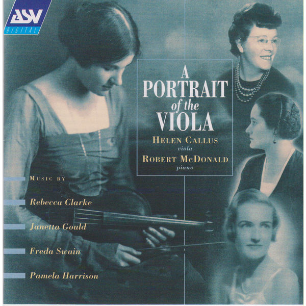 Helen Callus - A Portrait Of The Viola