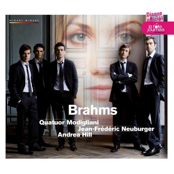 Jean-Frédéric Neuburger - Brahms : Quintette avec piano en fa mineur opus 34