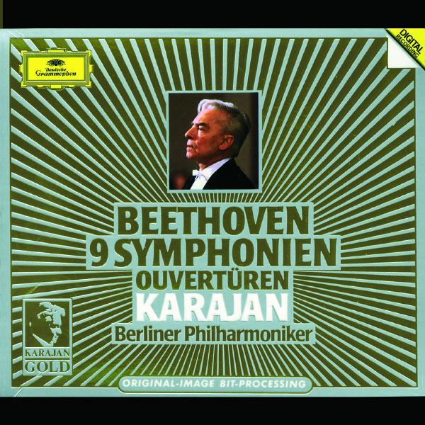 Herbert von Karajan - Beethoven : 9 Symphonies - Overtures (1986)