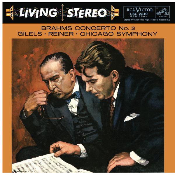 Emil Gilels - Brahms: Piano Concerto No. 2 in B-Flat Major, Op. 83