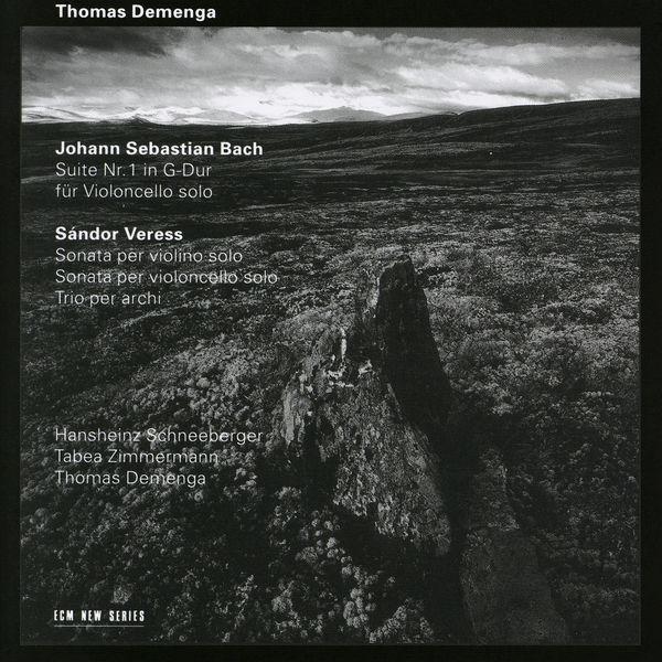 Thomas Demenga - Bach: Suite Nr.1 für Violoncello solo / Veress: Sonata