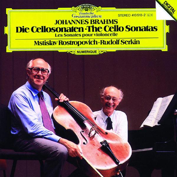 Mstislav Rostropovich - Brahms: The Cello Sonatas