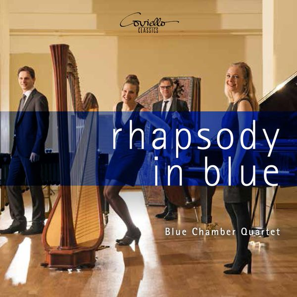 Blue Chamber Quartet - Rhapsody in Blue (Arr for Piano , Harp, Bass and Vibraphone)