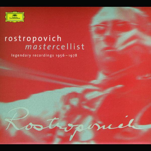Mstislav Rostropovich - Rostropovich - Mastercellist. Legendary Recordings 1956-1978