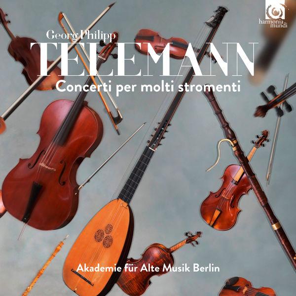 Akademie für Alte Musik Berlin - Telemann : Concerti per molti stromenti