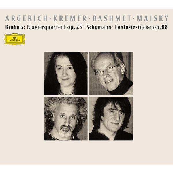 Martha Argerich - Brahms: Klavierquartett Op.25 – Schumann: Fantasiestücke Op.88