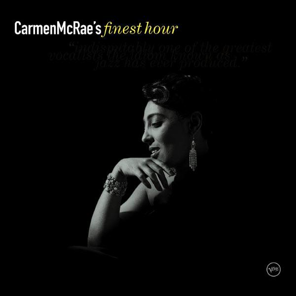 Carmen McRae|Carmen McRae: Finest Hour