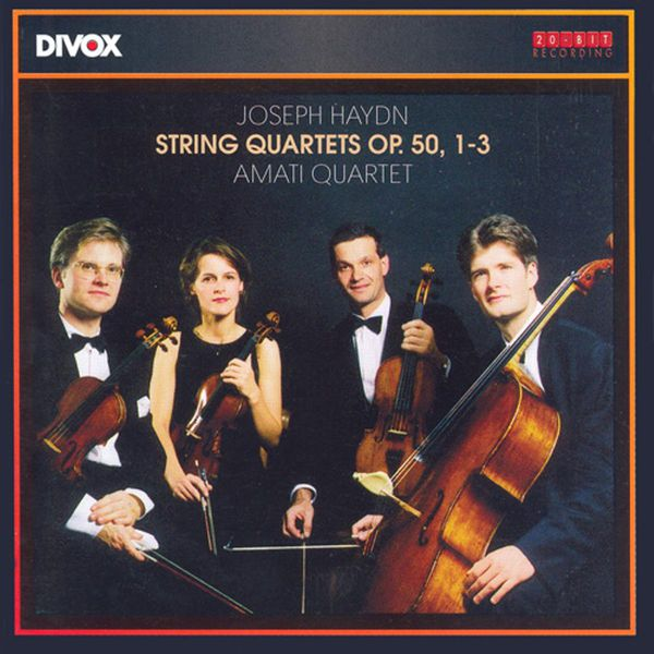Amati Quartet - Haydn, J.: String Quartets Nos. 36-38