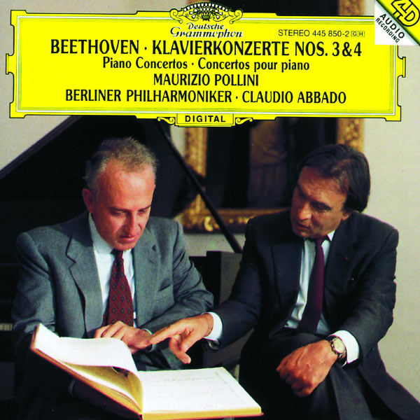 Maurizio Pollini - Beethoven: Piano Concertos Nos.3 & 4
