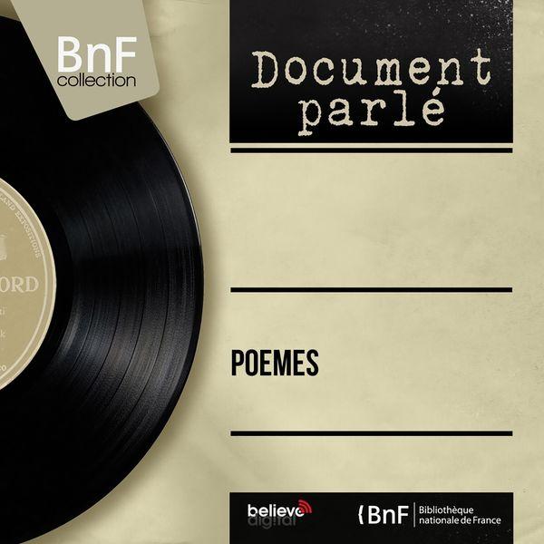 Various Artists - Poèmes (Mono Version)