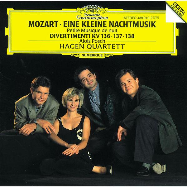 """Hagen Quartett - Mozart: Serenade No.13 in G K525 """"Eine Kleine Nachtmusik""""; Divertimenti"""