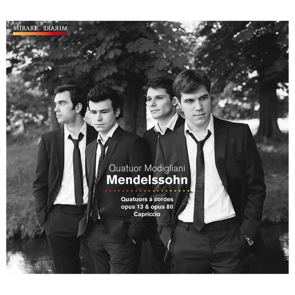 Quatuor Modigliani|Mendelssohn (Quatuor Modigliani)