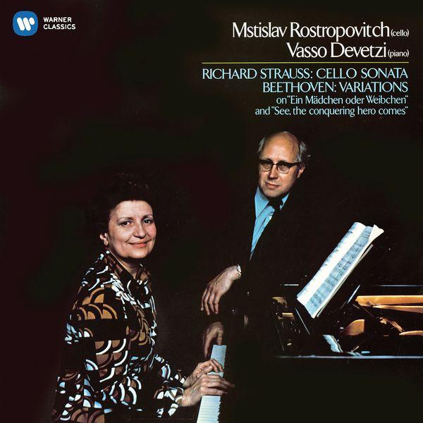 Mstislav Rostropovich - Beethoven: Cello Variations - Strauss, Richard: Cello Sonata